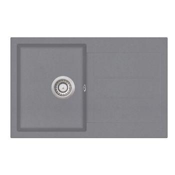 Graniitvalamu Aquasanita SQT101-202W hall 780x500mm 4101202071945 SQT101-202W