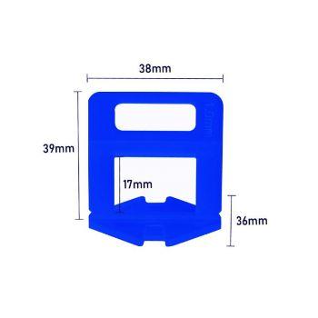 Plaatimisankur 1mm 3-15mm 100tk 4743217007573