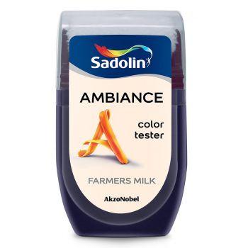 Ambiance tester Sadolin 30ml farmers milk