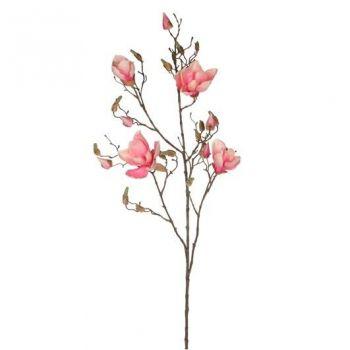 Kunstlill Magnolia roosa 109cm