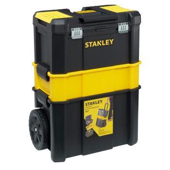 Tööriistakast Stanley 3in1 ratastel