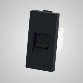 Arvuti pesa Tenux RJ45 1/2 must 47422216