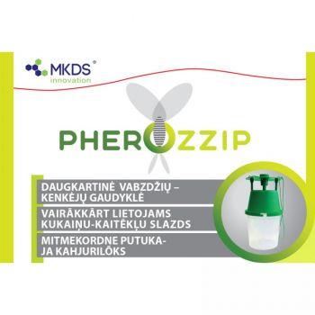 Putuka- ja kahjurulõks Pherozzip mitmekordne 4771315390877