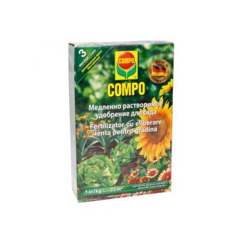 Väetis Compo aia pikaajal 1kg 4008398327569