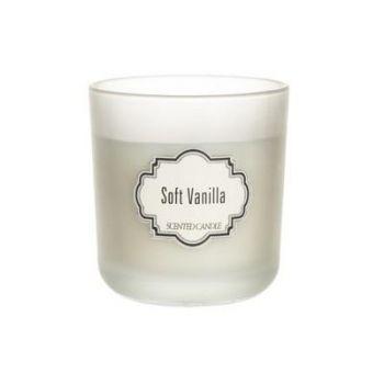 Küünal lõhna klaastopsis Soft Vanilla