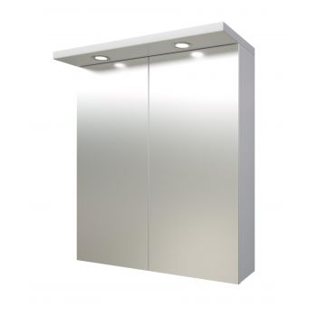 Peegelkapp Quadro Pro valge 60cm