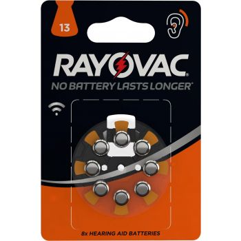 Patarei Rayovac 13 kuuldeaparaadi d 8-pakk 5000252003786
