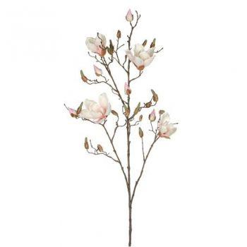 Kunstlill Magnolia heleroosa 109cm
