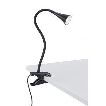 Valgusti Viper klambriga must LED 3W