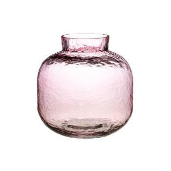 Lillevaas Jumanji klaasist 20cm roosa