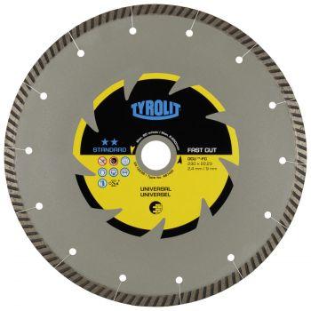 Teemantkuivlõikeketas DCU-turbo 125x2,0x22,2