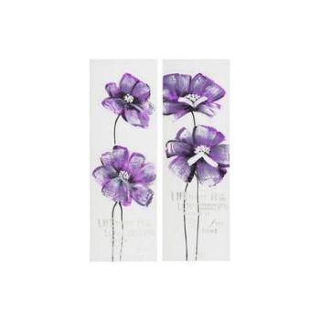 Pilt Lillad lilled 30x90cm