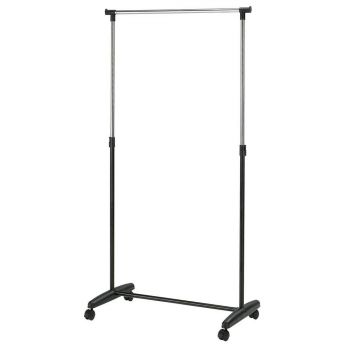 Stange Fred 85x43xH95-160cm must/kroom
