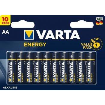 Patarei Varta Energy AA/LR6  10-pakk 4008496674398