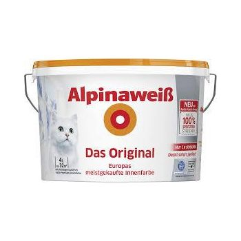 Sisevärv Alpinaweiß Das Original 4 l 4001244796472