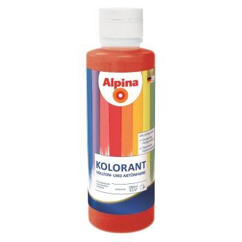 Toonimispasta Alpina KOLORANT 0,5 l Punakaspruun 4002381848598