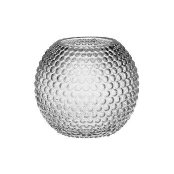 Lillevaas klaasist Ball 18cm sinine