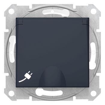 Pistikupesa maandusega Sedna kaanega süvis grafiit