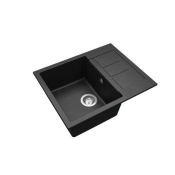 Graniitvalamu Aquasanita SQT102-601W 620x500mm must 4102601072038