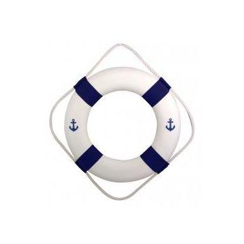 Päästerõngas 50cm sinine/valge