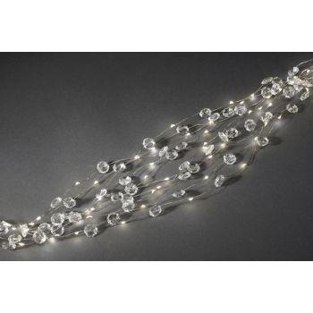 Valguskett 200LED Diamond soe valge