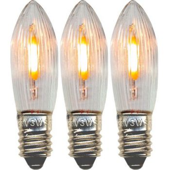 Advendiküünla LED varupirn 3tk, E10 universaalne, 14-55V 7391482039606
