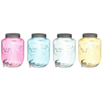 Jooginõu kraaniga 8L klaasist 6410412913777