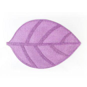 Lauamatt Leaf 30x45 lilla