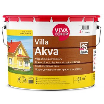 Puitmajavärv Vivacolor Villa Akva A 2,7L