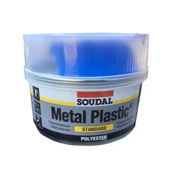 Polüesterpahtel Soudal Metal Plastic hall 250g