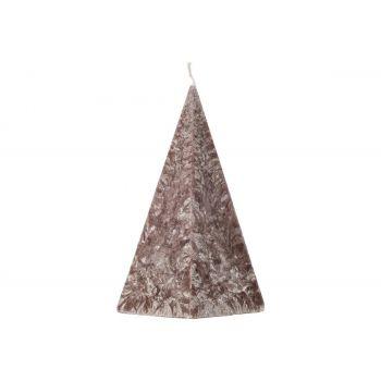 Küünal Püramiid 10x17cm pruun