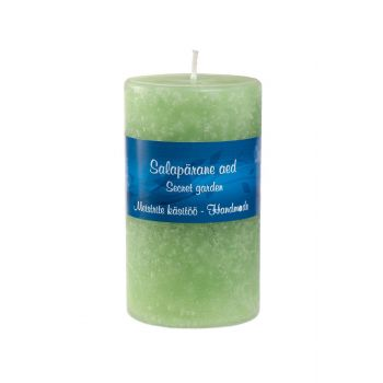 Lõhnaküünal Salapärane aed 5.5x12cm 4743288010793