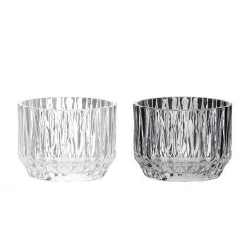 Küünlatops Lucy klaasist 8cm valik 6410413016484