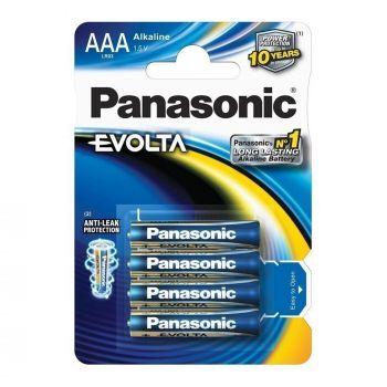 Panasonic patarei AAA 4tk