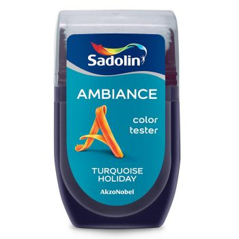 Ambiance tester Sadolin 30ml turquoise holiday