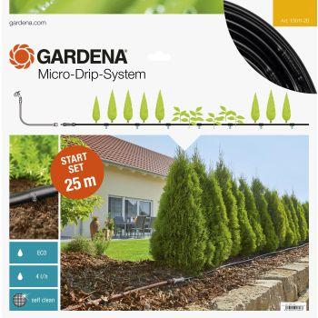 Maapealne tilgutusvoolik Gardena komplekt M (25 m)