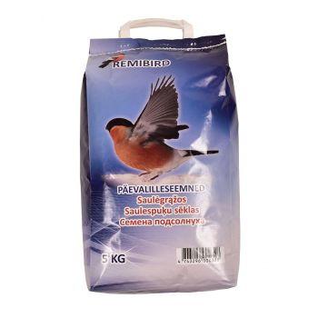 Linnutoit päevalilleseemned triibuline 5,0kg 4743296000328