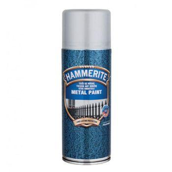 Metallivärv Hammerite Hammered, vasardatud pind, 400ml, aerosool, must