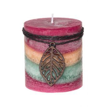 Küünal lõhna värvilne 7x7,5cm tee  6410413197107