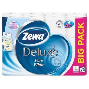 WC-paber Zewa Deluxe PureWhite 3kihti 24rulli 7322540698527