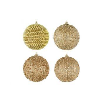 Kuuseehe kuldne pall 10cm valik
