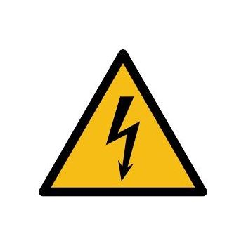 Kleebis Elektrilöögi oht, eluohtlik 10x10 2091011
