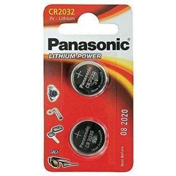 Panasonic patarei CR2032 2tk