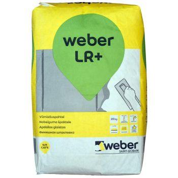 Viimistluspahtel LR+ Weber 20kg