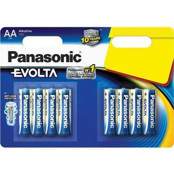 Patarei Panasonic AA LR6EGE/8