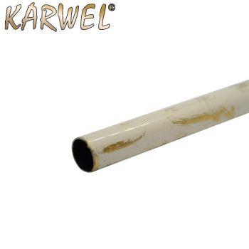 Kardinapuu toru/16 180cm valge-kuldne 5907572991475