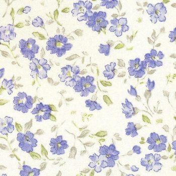 Kleebis 45cmx2m sinised lilled