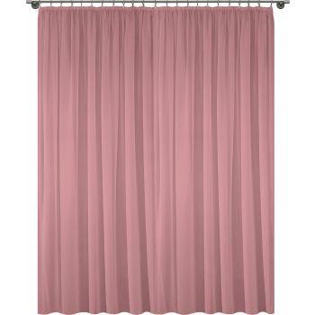 Kardin Diana 400x260cm roosa