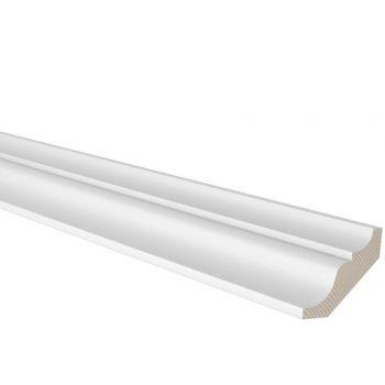 Sisenurgaliist 66x69mm 2,7m mänd valge