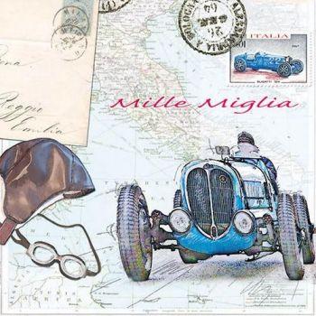 Salvrätik Mille Miglia 33x33cm 8712159126884